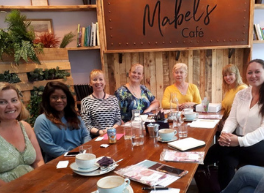 Inspiring Success Collaborative ladies sitting together